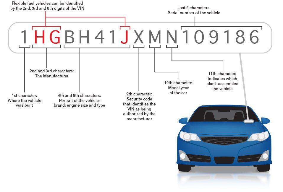 chassisnummer auto